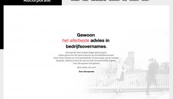 Nieuwe site van Adcorporate is live!